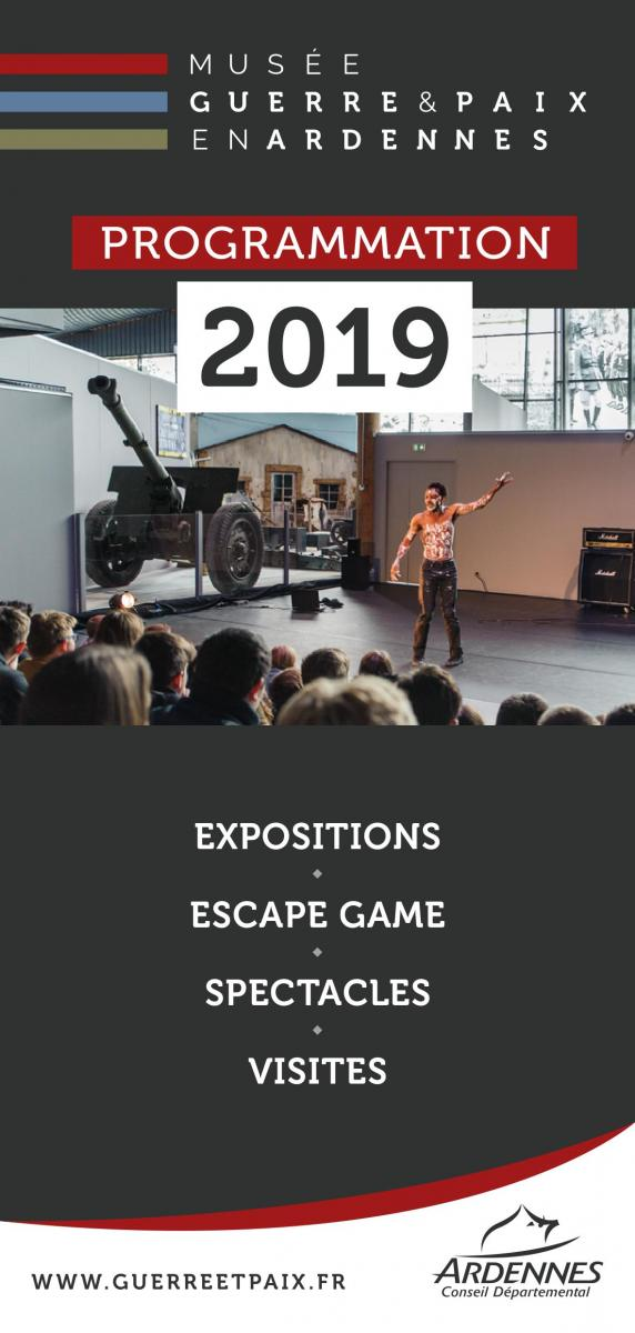Programme des animations 2019