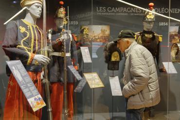 Des vétérans américains en visite officielle au musée